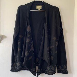 LUCKY BRAND waterfall wrap jacket